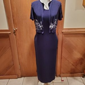 Two piece maxi dress